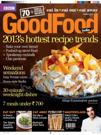 'Persian Delights' in BBC Good Food Magazine, March 2013