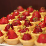 strawberry tartelettes