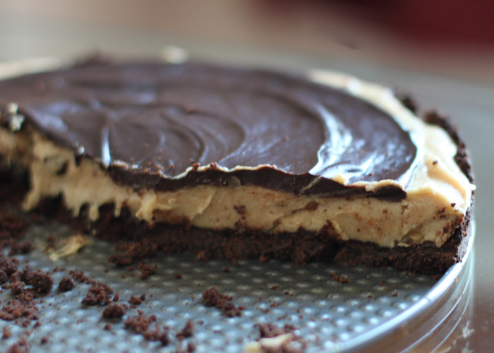 Double-Chocolate Peanut Butter Pie