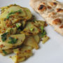 Aloo ki Bhujia, Cumin-Spiced Potatoes, in the Pakistani Manner